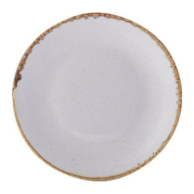 DPS Tableware Seasons Coupe Plate 24cm Stone Grey