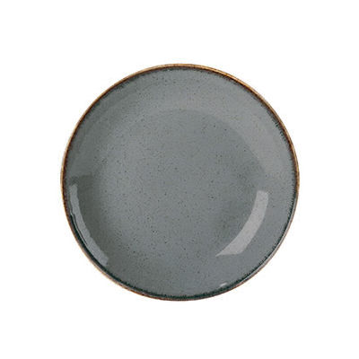 DPS Tableware Seasons Coupe Plate 24cm Storm Grey