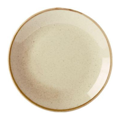 DPS Tableware Seasons Coupe Plate 24cm Wheat Cream