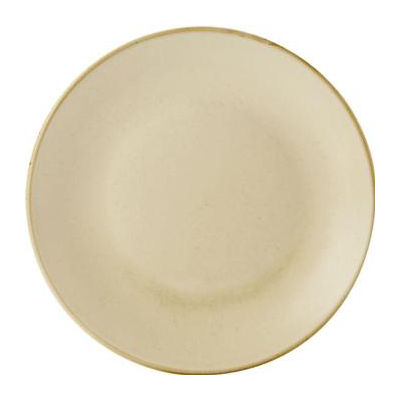 DPS Tableware Seasons Coupe Plate 28cm Wheat Cream