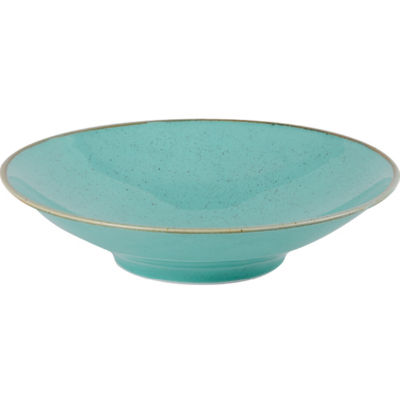 DPS Tableware Seasons Footed Bowl 26cm Sea Spray Blue