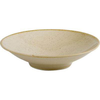 DPS Tableware Seasons Footed Bowl 26cm Wheat Cream