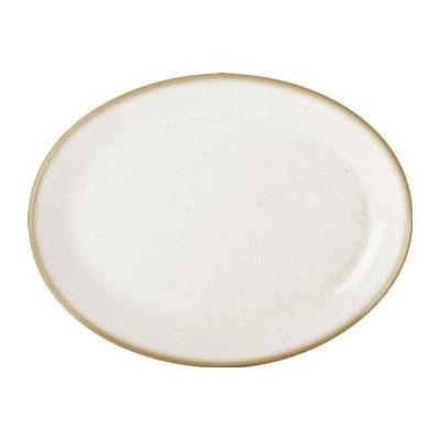 DPS Tableware Seasons Oval Plate 30cm Oatmeal Cream