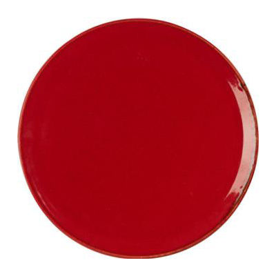 DPS Tableware Seasons Pizza Plate 28cm Magma Red