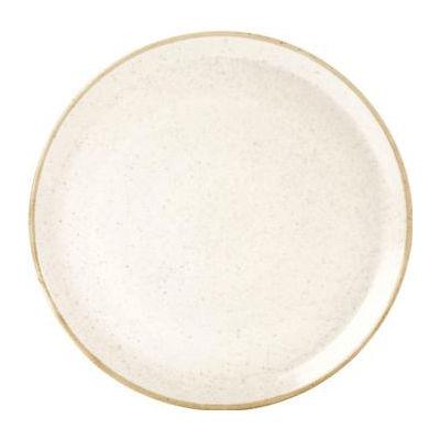 DPS Tableware Seasons Pizza Plate 28cm Oatmeal Cream