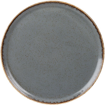 DPS Tableware Seasons Pizza Plate 28cm Storm Grey