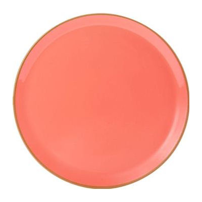 DPS Tableware Seasons Pizza Plate 32cm Coral Orange