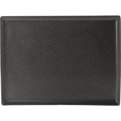 DPS Tableware Seasons Rectangular Platter 27cm Graphite Black