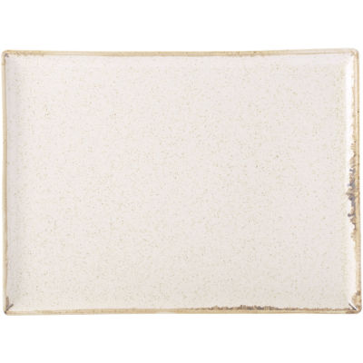 DPS Tableware Seasons Rectangular Platter 27cm Oatmeal Cream