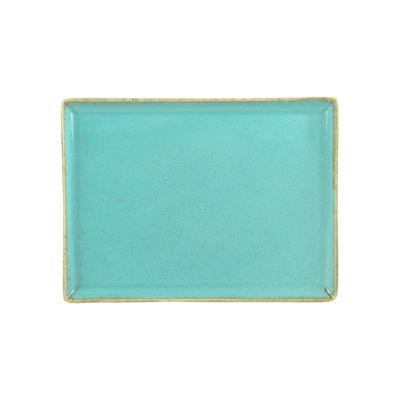 DPS Tableware Seasons Rectangular Platter 27cm Sea Spray Blue