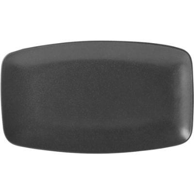 DPS Tableware Seasons Tapered Rectangular Platter 31cm Graphite Black