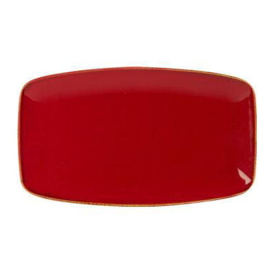 DPS Tableware Seasons Tapered Rectangular Platter 31cm Magma Red