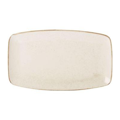 DPS Tableware Seasons Rectangular Platter 31cm Oatmeal Cream