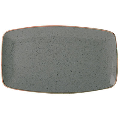DPS Tableware Seasons Tapered Rectangular Platter 31cm Storm Grey