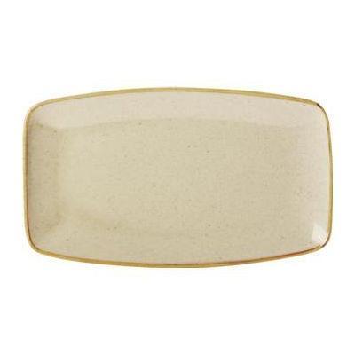 DPS Tableware Seasons Rectangular Platter 31cm Wheat Cream