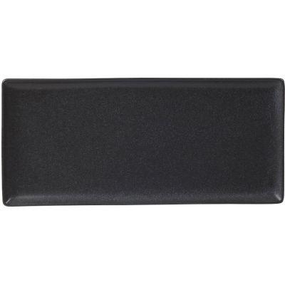 DPS Tableware Seasons Rectangular Platter 35cm Graphite Black