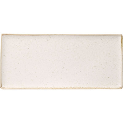 DPS Tableware Seasons Rectangular Platter 35cm Oatmeal Cream