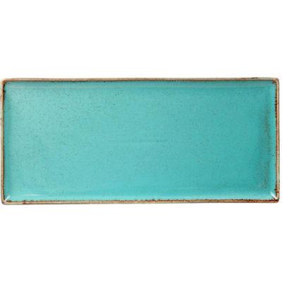 DPS Tableware Seasons Rectangular Platter 35cm Sea Spray Blue