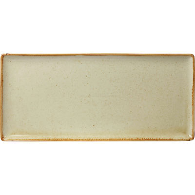DPS Tableware Seasons Rectangular Platter 35cm Wheat Cream