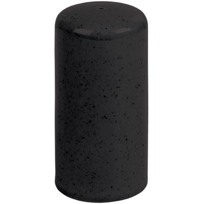 DPS Tableware Seasons Salt Pot 8cm Graphite Black