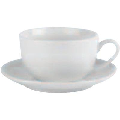 DPS Tableware Simply Vitrified Porcelain Retail Bowl Shape Cup 0.22L