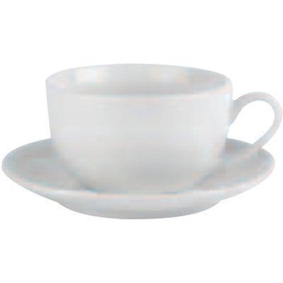 DPS Tableware Simply Vitrified Porcelain Retail Bowl Shape Cup 0.35L