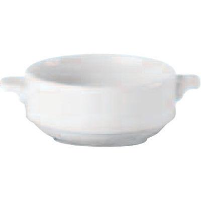 DPS Tableware Simply Vitrified Porcelain Retail Lugged Soup Cup 0.28L