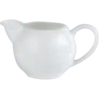 DPS Tableware Simply Vitrified Porcelain Retail Milk Jug 0.25L