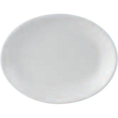 DPS Tableware Simply Vitrified Porcelain Retail Oval Plate 25x19cm