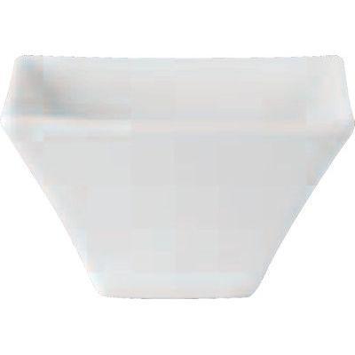 DPS Tableware Simply Vitrified Porcelain Retail Square Bowl 12cm