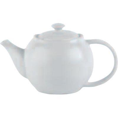 DPS Tableware Simply Vitrified Porcelain Retail Teapot 0.75L