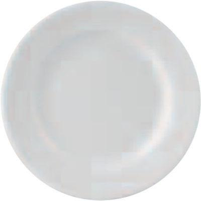 DPS Tableware Simply Vitrified Porcelain Retail Winged Plate 25.5cm