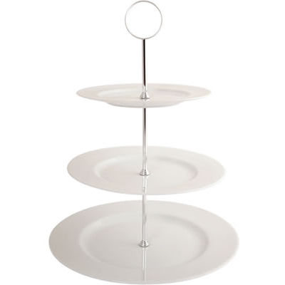 Fairmont and Main Arctic Three-Tier Cake Stand