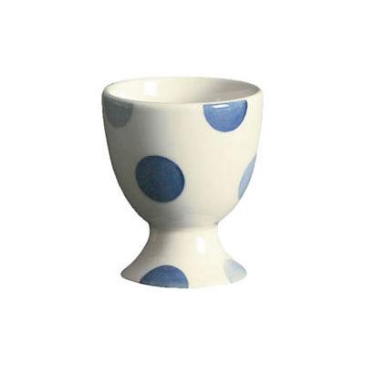 Fairmont and Main Blue Spot Eggcup