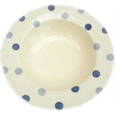 Fairmont and Main Blue Spot Pasta Plate 26cm
