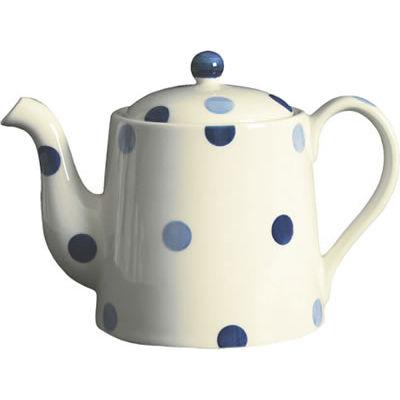 Fairmont and Main Blue Spot Teapot Large 1L