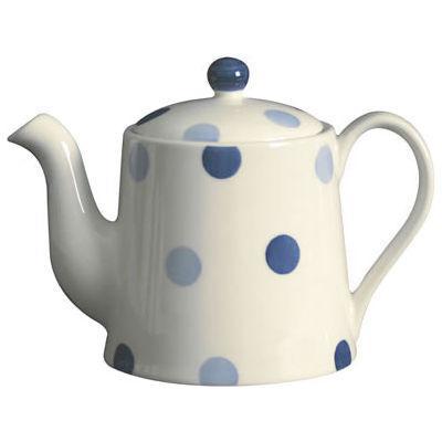 Fairmont and Main Blue Spot Teapot Small 0.6L