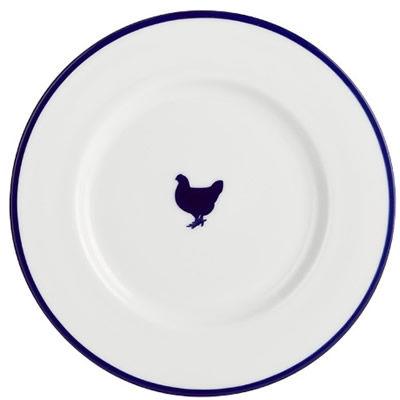 Fairmont and Main Canteen Dessert Plate 21cm Hen