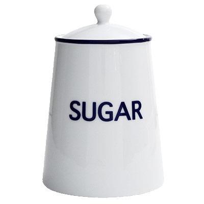 Fairmont and Main Canteen Storage Jar Sugar