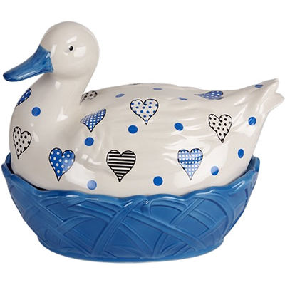 Fairmont and Main Ducks & Hens Lucy the Duck Egg Basket