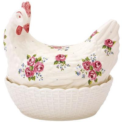 Fairmont and Main Ducks & Hens Rosie the Hen Egg Basket