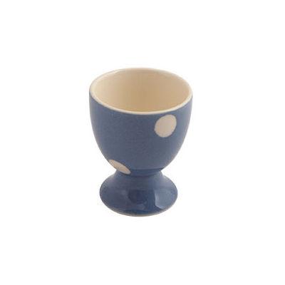 Fairmont and Main Kitchen Stripe & Spot Blue Eggcup Spot Blue