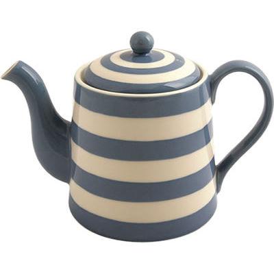 Fairmont And Main Kitchen Stripe Amp Spot Blue Teapot Stripe