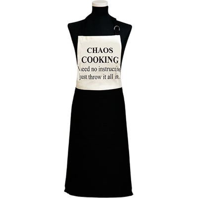 Fairmont and Main Quips & Quotes Apron Chaos Cooking