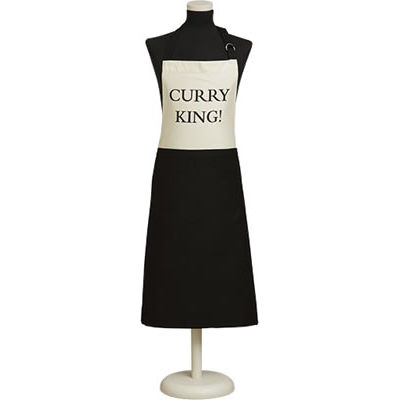 Fairmont and Main Quips & Quotes Apron Curry King