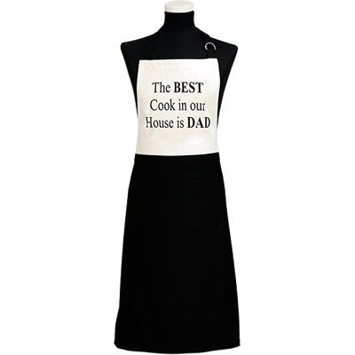 Fairmont and Main Quips & Quotes Apron The Best Cook