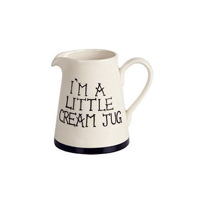 Fairmont and Main Quips & Quotes Cream Jug