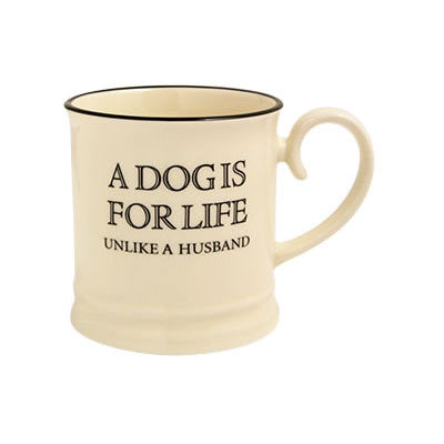 Fairmont and Main Quips & Quotes Mug A Dog Is For Life