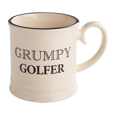 Fairmont and Main Quips & Quotes Mug Grumpy Golfer
