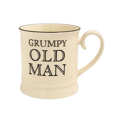 Fairmont and Main Quips & Quotes Mug Grumpy Old Man